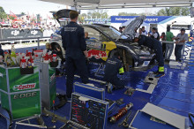 Volkswagens segerrad bröts i Rally Argentina