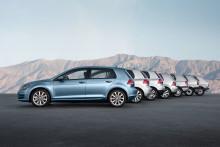Volkswagen har tillverkat sin 30 miljonte Golf