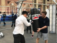 Officers host Haringey boxing event