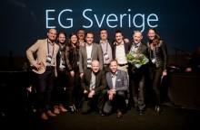 EG valgt som Årets Microsoftpartner i Sverige