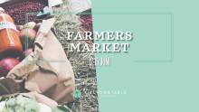Farmers Market x Kitchen & Table