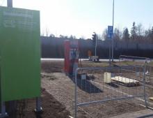 Snabbladdare från GARO installeras på OKQ8 i Häggvik