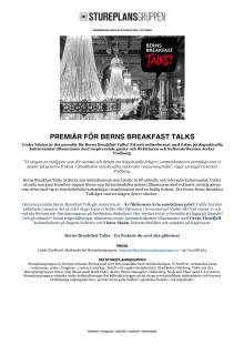 PRM - Berns Breakfast Talk