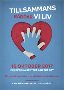 Restart a heart day - Måndag 16 oktober i hela Europa!