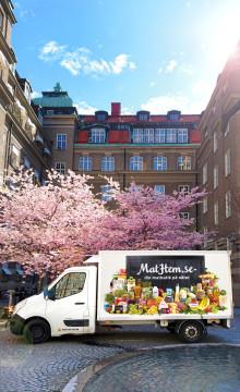 MatHem förenklar livet för sina kunder genom att ta emot returpaket åt PostNord