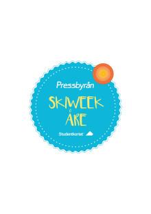 Pressbyrån - stolt huvudsponsor till Studentkortet Skiweek Åre