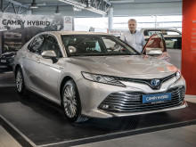 Comeback for Camry i Harstad
