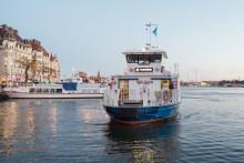 34 procent fler resenärer på Sjövägen