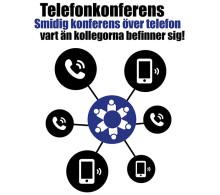 NY PRODUKT – Weblink Telefonkonferens