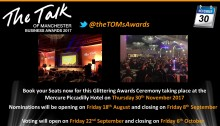 Voting now open for Talk of Manchester Awards – Finegreen shortlisted for Recruitment Agency of the Year – Vote Now!