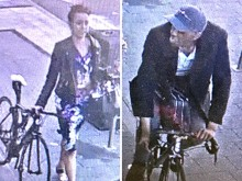 Police seek pair in connection with Brighton bike thefts