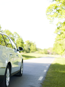 Bilkörningen minskar för fjärde året i rad