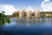 Nya kvarter ger kommuninvånarna i Upplands-Bro bättre tillgång till Mälaren