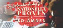 Förbered dig för nationella proven i SO 2017