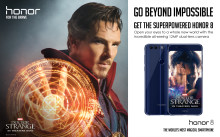 """Global Smartphone Brand Honor Teams with Marvel Studios' Doctor Strange to Bring """"Bravery"""" to the Screens"""