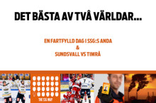 Miniseminarium med hockey i Sundsvall