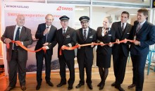 New route between Bergen and Zurich with the innovative  Bombardier CS100  jet
