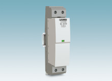 Powerful lightning current arrester for 400/690 V systems