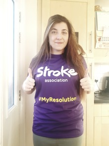 ​Leeds mother takes on Resolution Run for the Stroke Association