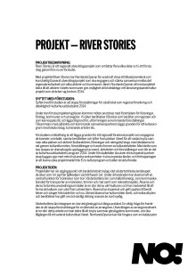 Information om projektet River Stories
