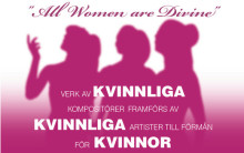 All Women are Divine - välgörenhetskonsert på internationella kvinnodagen