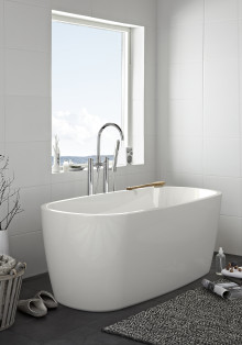 Nye frittstående badekar fra Hafa.