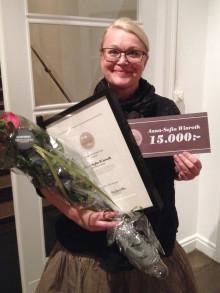Årets Jan Moback-stipendiat är Anna-Sofia Winroth, en chokladmakare som vill förändra världen.