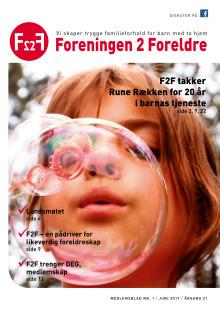Foreningen 2 Foreldre medlemsblad nr 1-2017