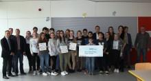 Woam dahoam: Schüler der Grund- und Mittelschule geben Rodinger Nahwärmenetz einen Namen
