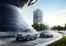 Helelektriska BMW iX3: Räckvidd genom effektivitet framför stort batteri