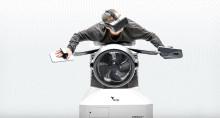 ebm-papst fläkt i simulator som låter människor prova på att flyga som en fågel