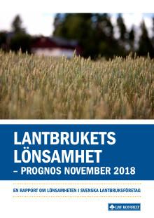 Lantbrukets Lönsamhet - november 2018