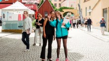 Förhandsvisning av film om Almedalen på Gotland