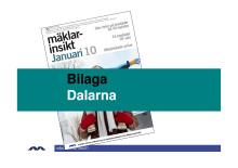 Mäklarinsikt januari 2010: Dalarna