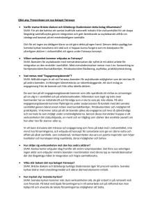 Q&A Fairways - nytt bolag för asylboenden utan vinstintresse