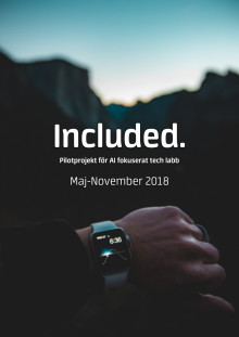 Included – en pilotstudie för AI-fokuserat tech labb