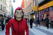 Butterick's får försäljningsrättigheterna för La Casa de Papel i Skandinavien