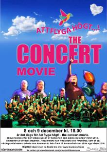 Bejublad konsert blir bio