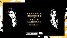 Hyllad turné av Benjamin Ingrosso och Felix Sandman till Jönköping