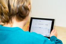 Elever på Erlaskolan lär sina lärare att koda.  Erla <3 <framtidens_sprak>