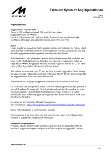 Fakta om flytten av Ångfärjestationen i Helsingborg