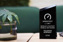 Ookla: Telenor hadde verdens raskeste mobilnett i hele 2018