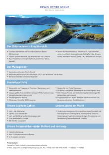 Erwin Hymer Group Fact Sheet Unternehmen