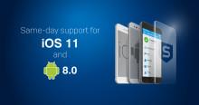 Sophos Mobile – omedelbart skydd för iOS 11 och Android Orea