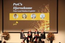 Nytårskur 2017 med Peter Lund Madsen og PwC's Hjernekasse