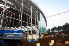 Woburn Forest construction, ecological and recruitment update (October 2013)
