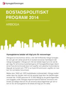 Bostadspolitiskt program Arboga kommun