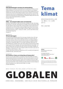 Globalen, program maj-juni 2012