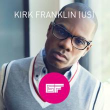 Kirk Franklin till Gullbrannafestivalen!