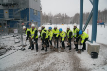 AkzoNobel tar första spadtaget till fortsatt expansion i Kvarntorp